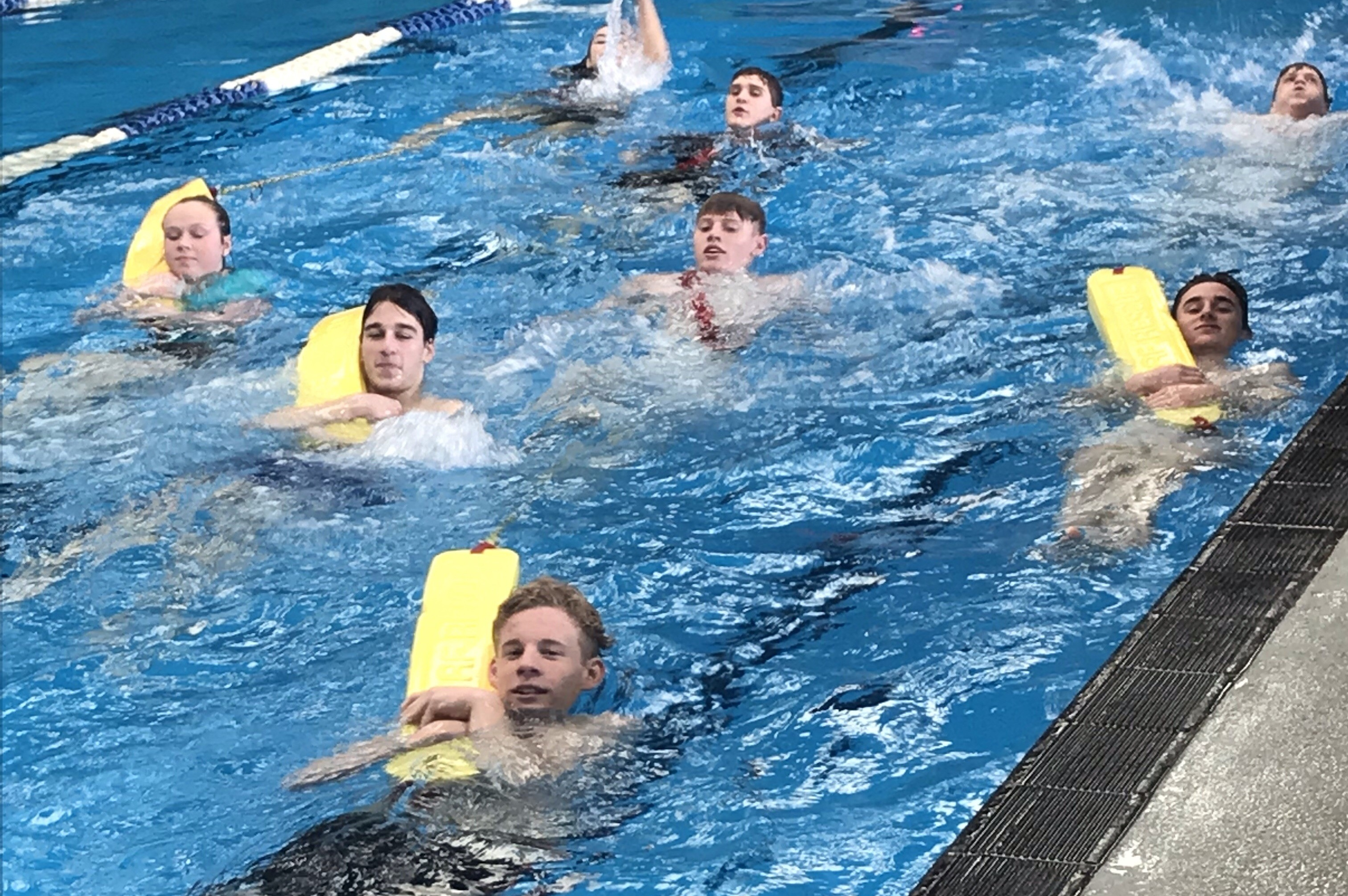 Pool Lifeguard Training