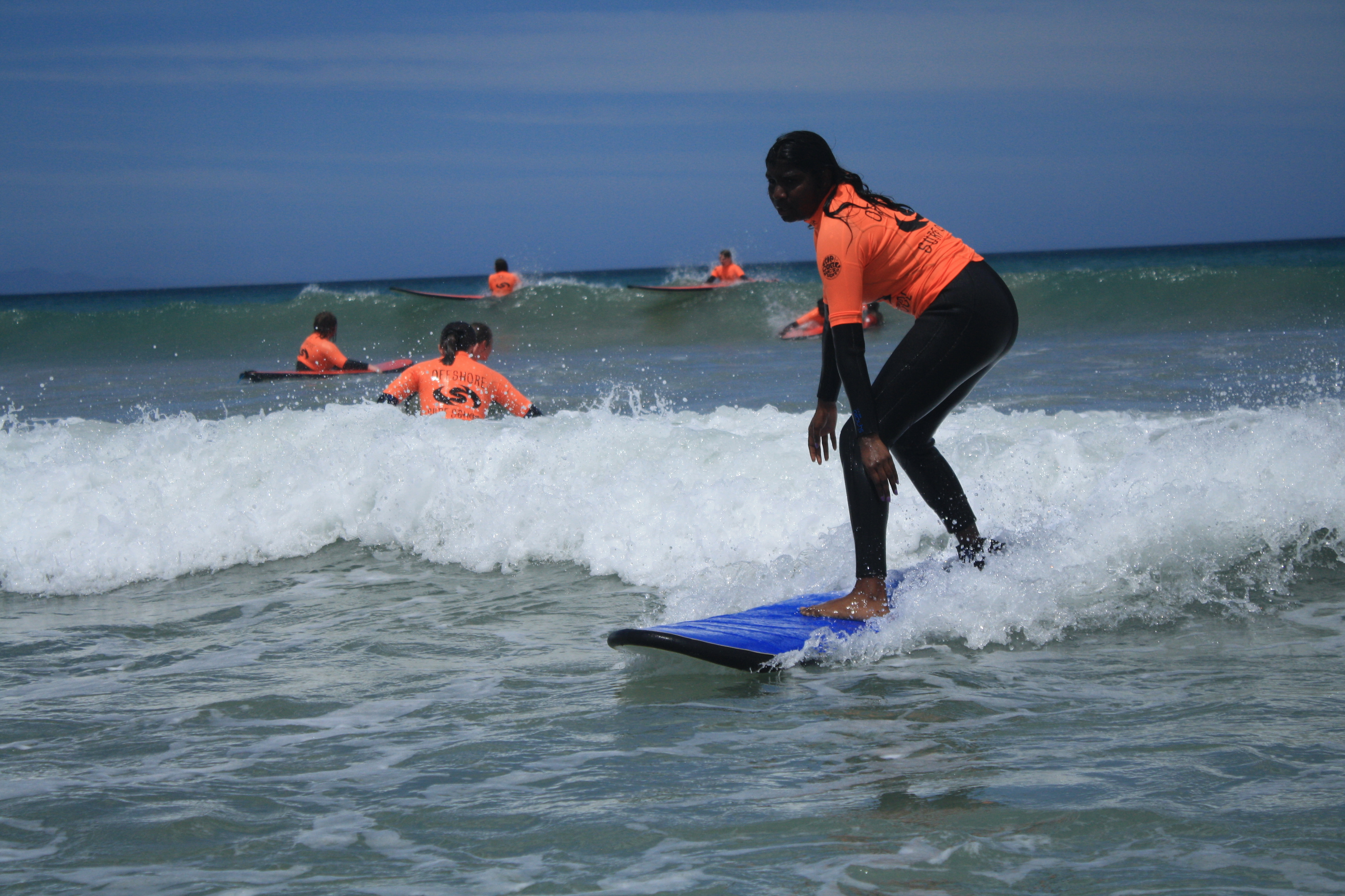 Outdoor Education Surf Camp