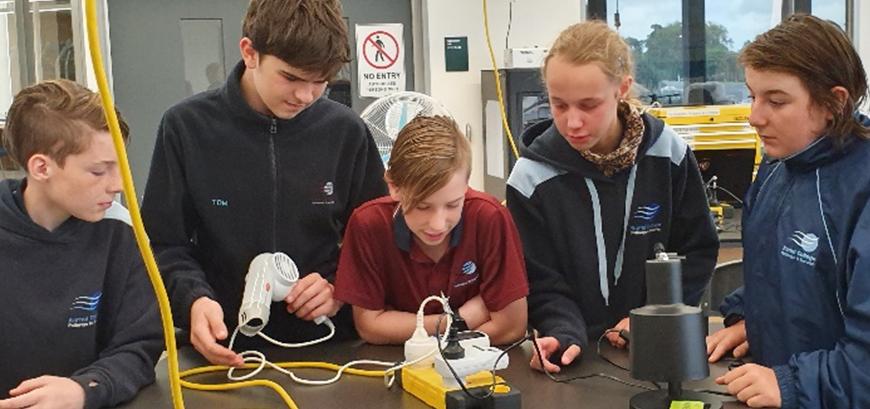 Gippsland Tech School Visit